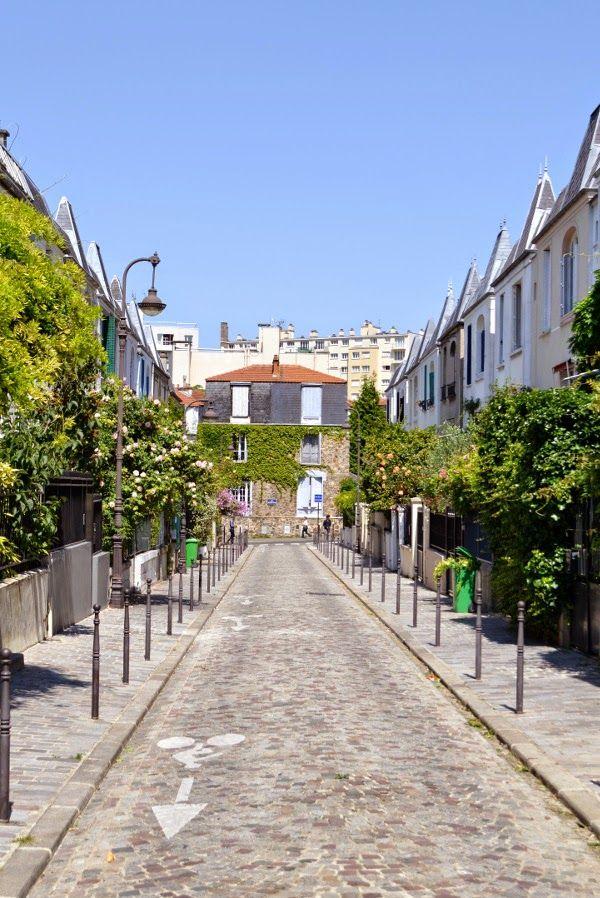 Art et glam: La rue Dieulafoy, Paris 13e, une rue parisienne très ...