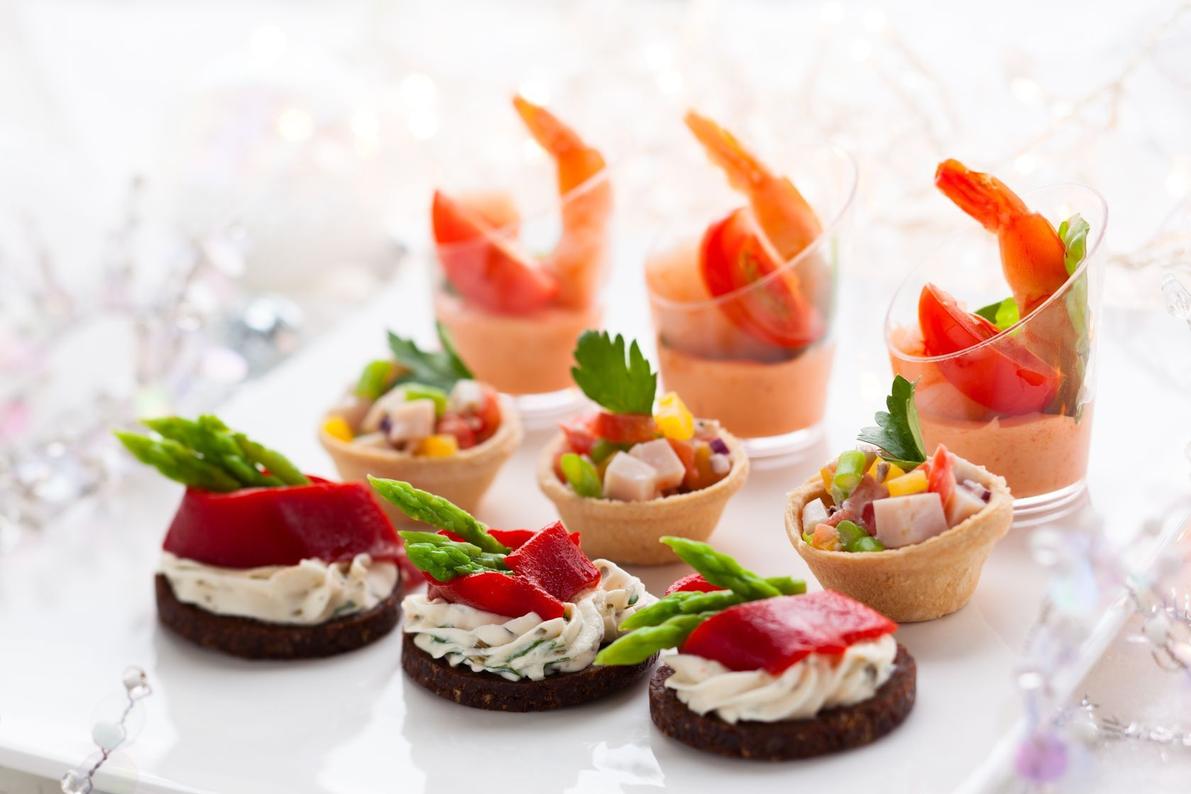 christmas party catering ideas