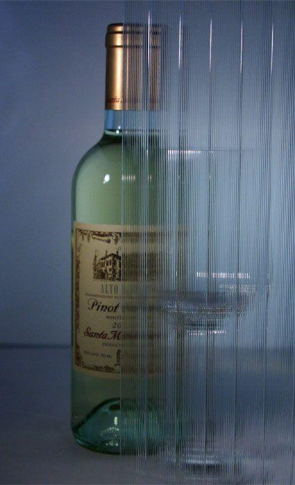 Bendheim Cabinet Glass, Series: European Clear Ridged