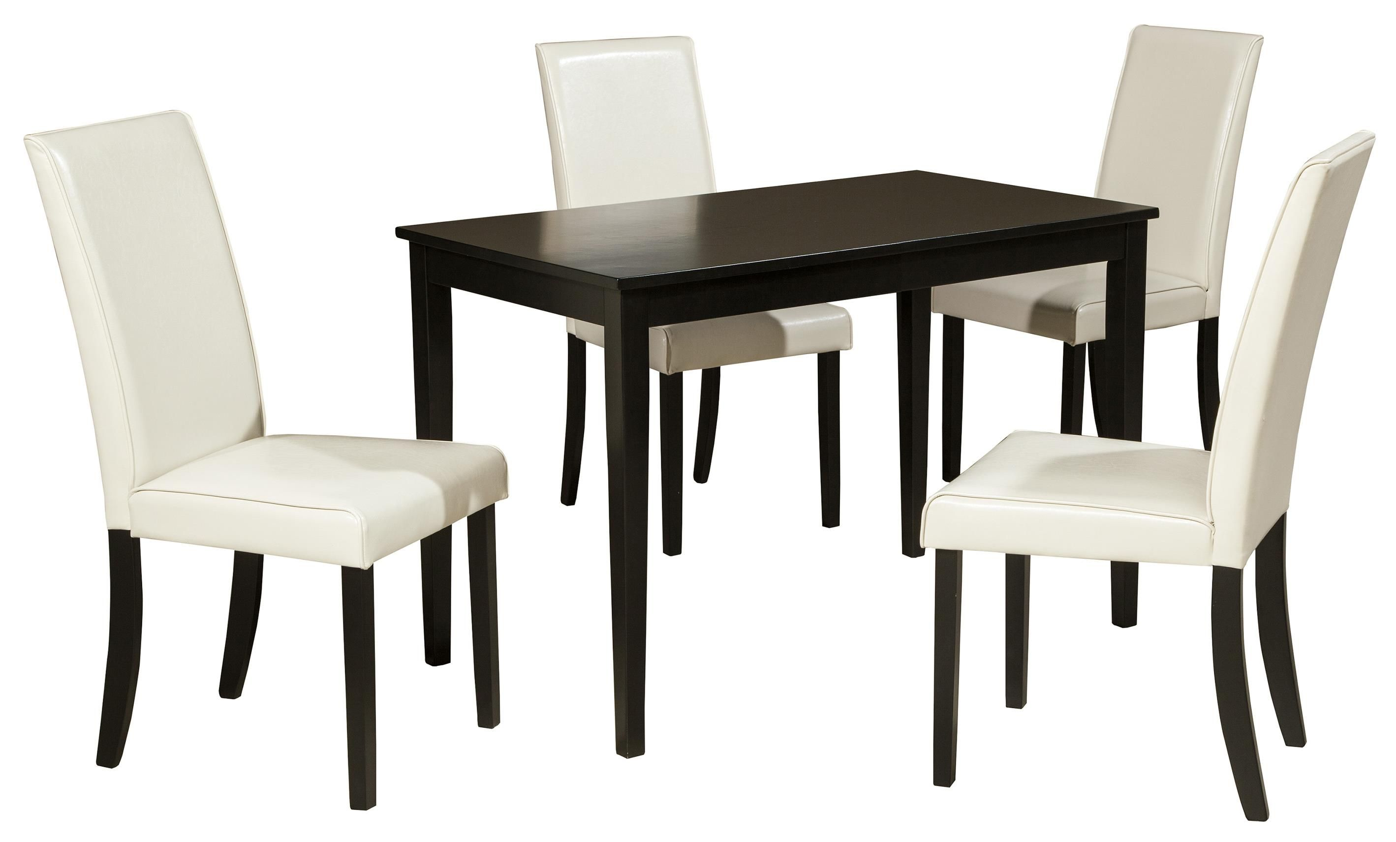 Kimonte 5 Piece Rectangular Table Set By Signature Design By
