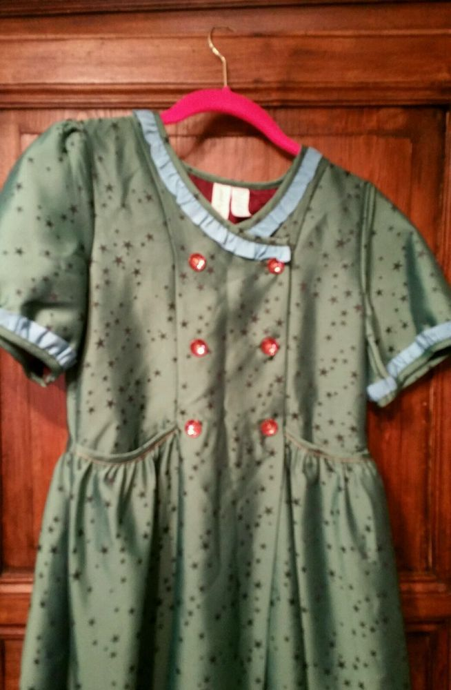 0b5e9cd7a2e0 MATILDA JANE Paint By Numbers CONSTELLATION Green Star Dress 14 Holiday  Party  MatildaJane  DressyEverydayHoliday