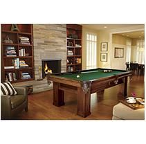 Brunswick Oakhill 8-Foot Billiard Table - Green
