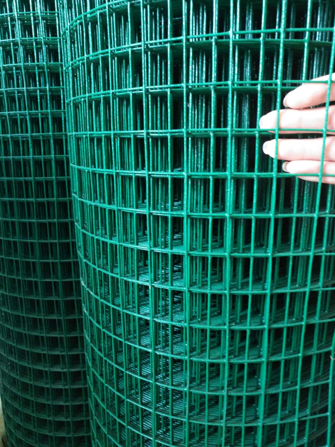 Pvc Coated Welded Wire Mesh With Mesh Size 1 X1 It Is Extensively Used In Industry And Agriculture Co Black Chain Link Fence Wire Mesh Fence Mesh Fencing