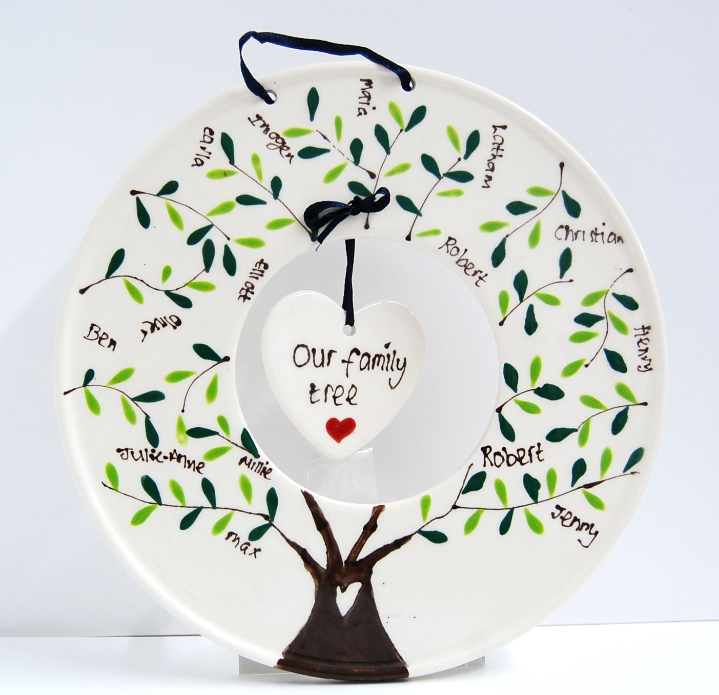 Create a ceramic family tree keepsakes using one of our new ...