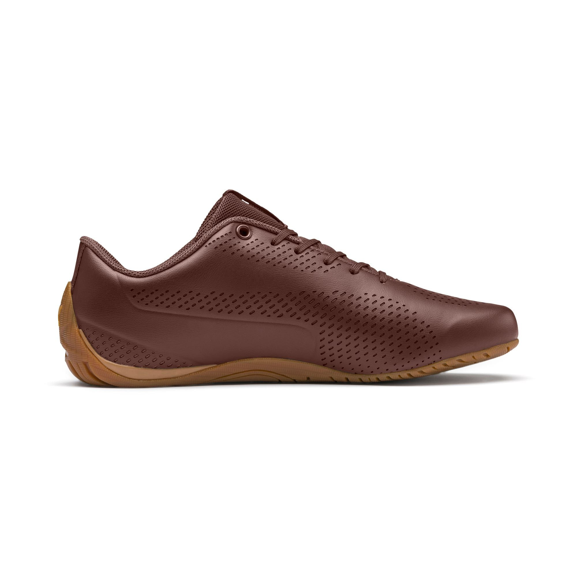 PUMA Drift Cat 5 Ultra II Trainers in Chocolate Brown/Silver ...