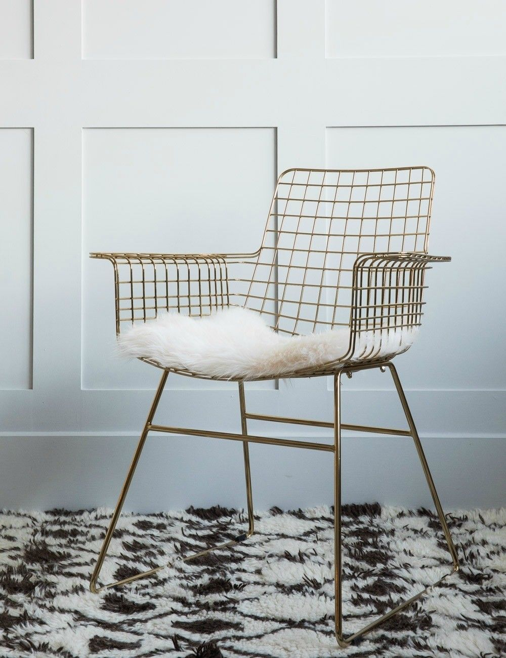 Brass Wire Chair At Rose Grey Furniture Wire Dining Chairs Dining Room Chairs Modern