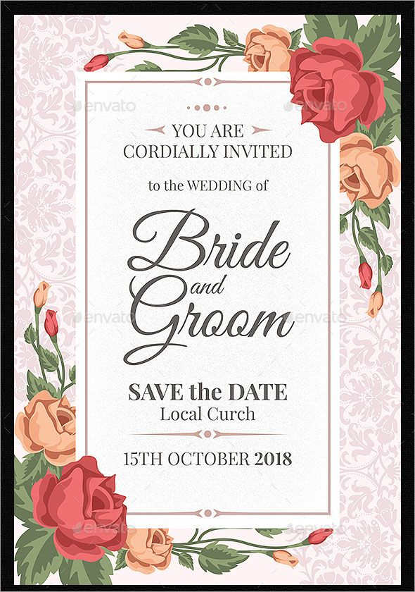 Search 100 Free Invitation Card Templates Online Graphic