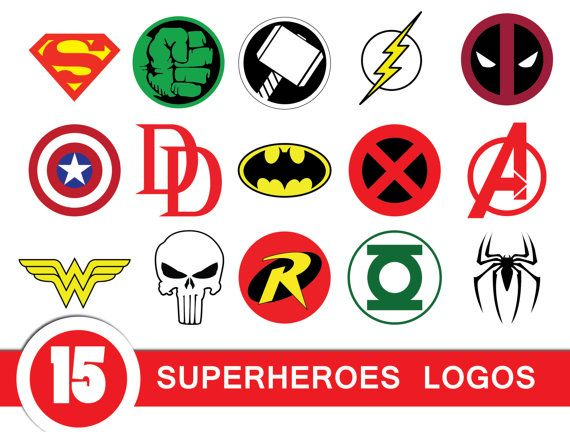 superheroe logo clipart superman logo spiderman logo