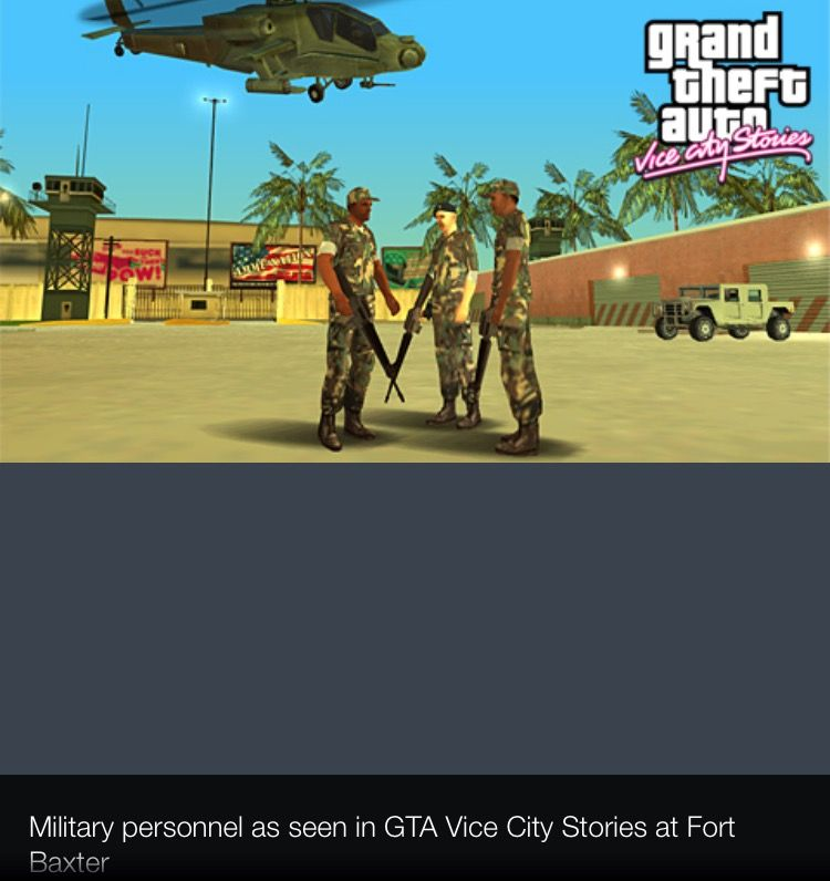 Fort Baxter In Gta Vice City Stories