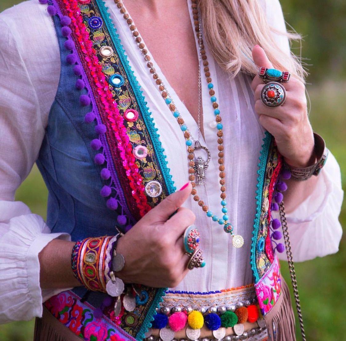 1255a7a4f50b4 Love Gilet the picture Bohem Çingene, Çingene Stili, Bohem, Bohem Modası,  Hippi