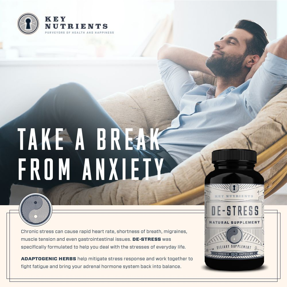 Pin on De-Stress - Anxiety & Stress Relief Supplement