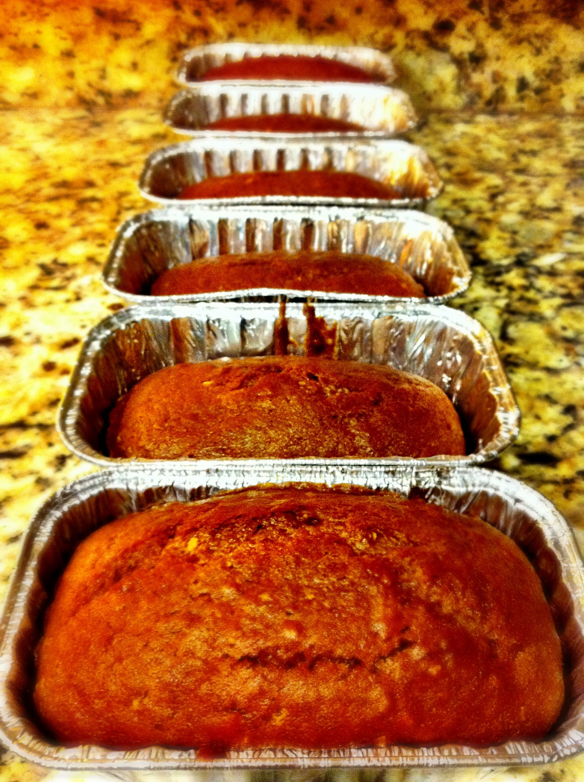 Amazing pumpkin bread I've been making for years.  LOVE it - Only difference, I've only made it with cook and serve - not the instant that this recipe calls for...  http://allrecipes.com/recipe/melt-in-your-mouth-pumpkin-bread/