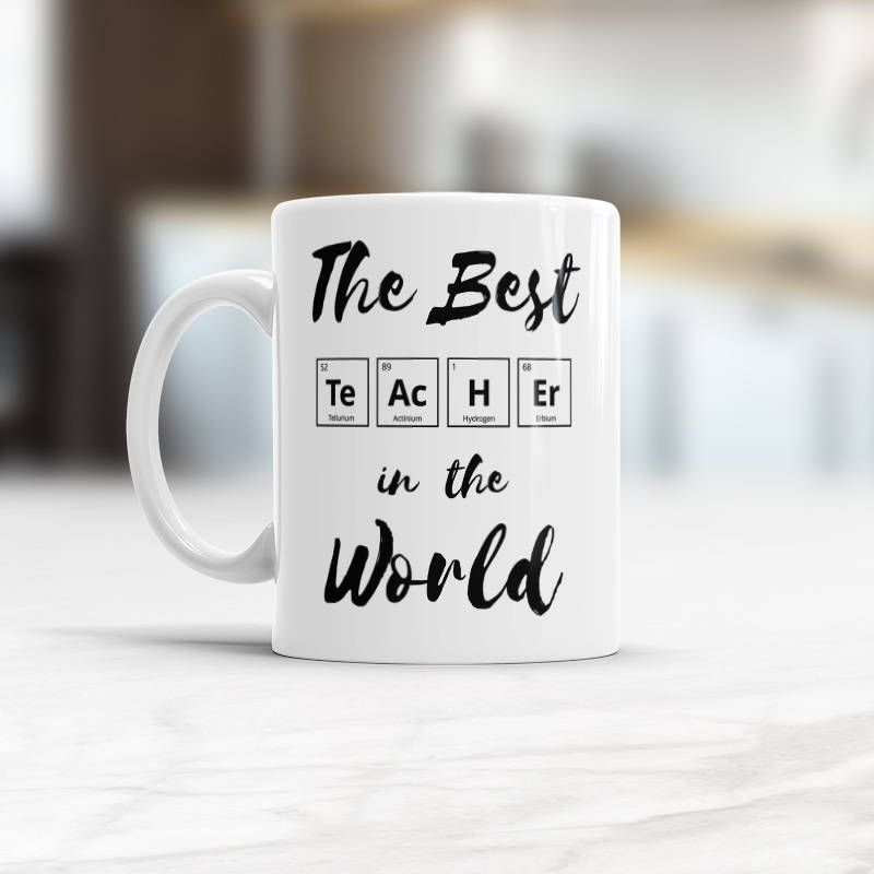 Chemistry Teacher Chemistry Coffee Mug The Best Teacher In The