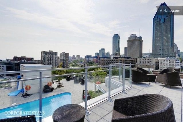 Appartement De Luxe Meuble Lowney In Montreal Condos For Rent Vacation Home Condo