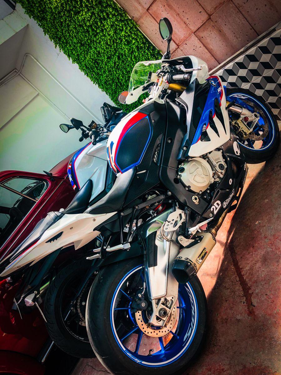 BMW 800cc y BMW 1000rr