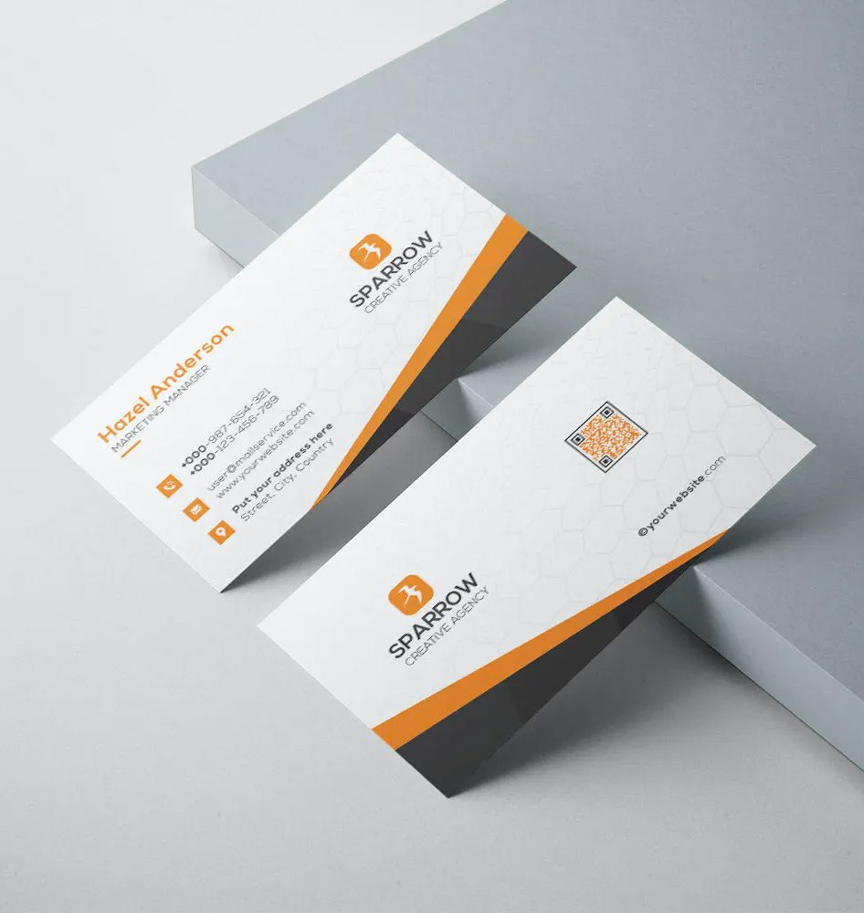 3 Ways To Add Your Social Media Profiles To Your Business Card Eventarc Social Media Business Cards Business Card Inspiration Google Business Card