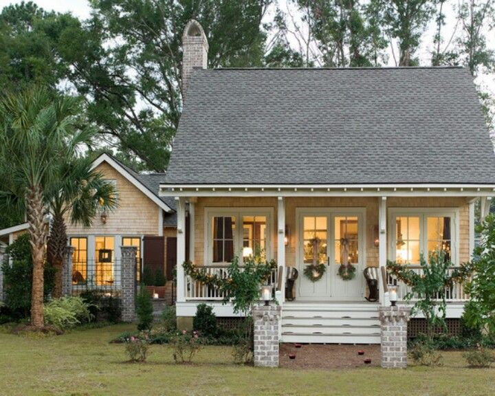Warm Cozy Home Cute Small Houses Cottage Homes Southern Living House Plans