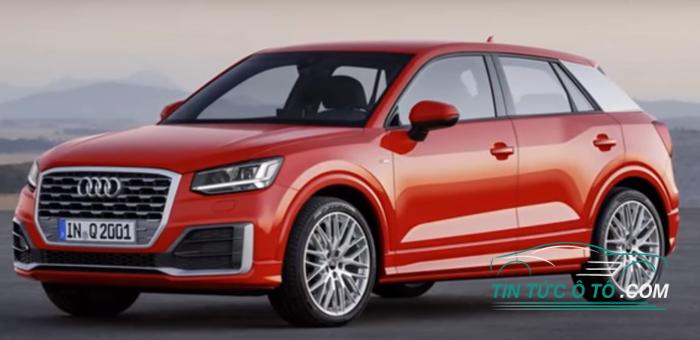 Audi Q2 TDI với công nghệ khóa vi sai tự động