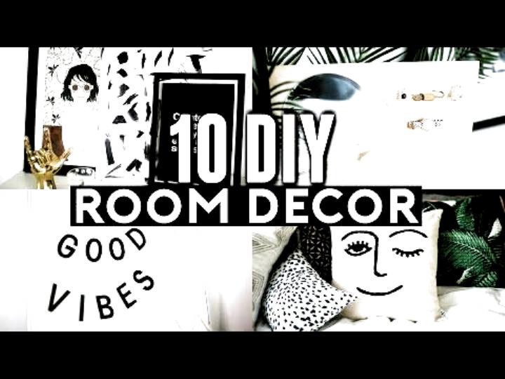 10 Diy Room Decor Ideas For 2017 Tumblr Inspired Minimal Easy In 2020 Diy Room Decor Diy Room Decor Tumblr Room Diy