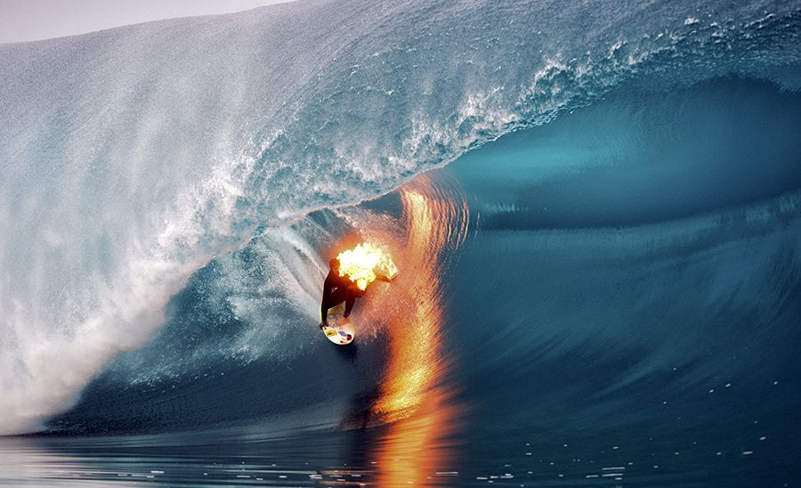 The 7 most absurd stunts Jamie O'Brien has ever pulled off #surf