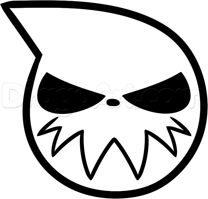 Soul Eater Coloring Pages Google Search Print Pinterest