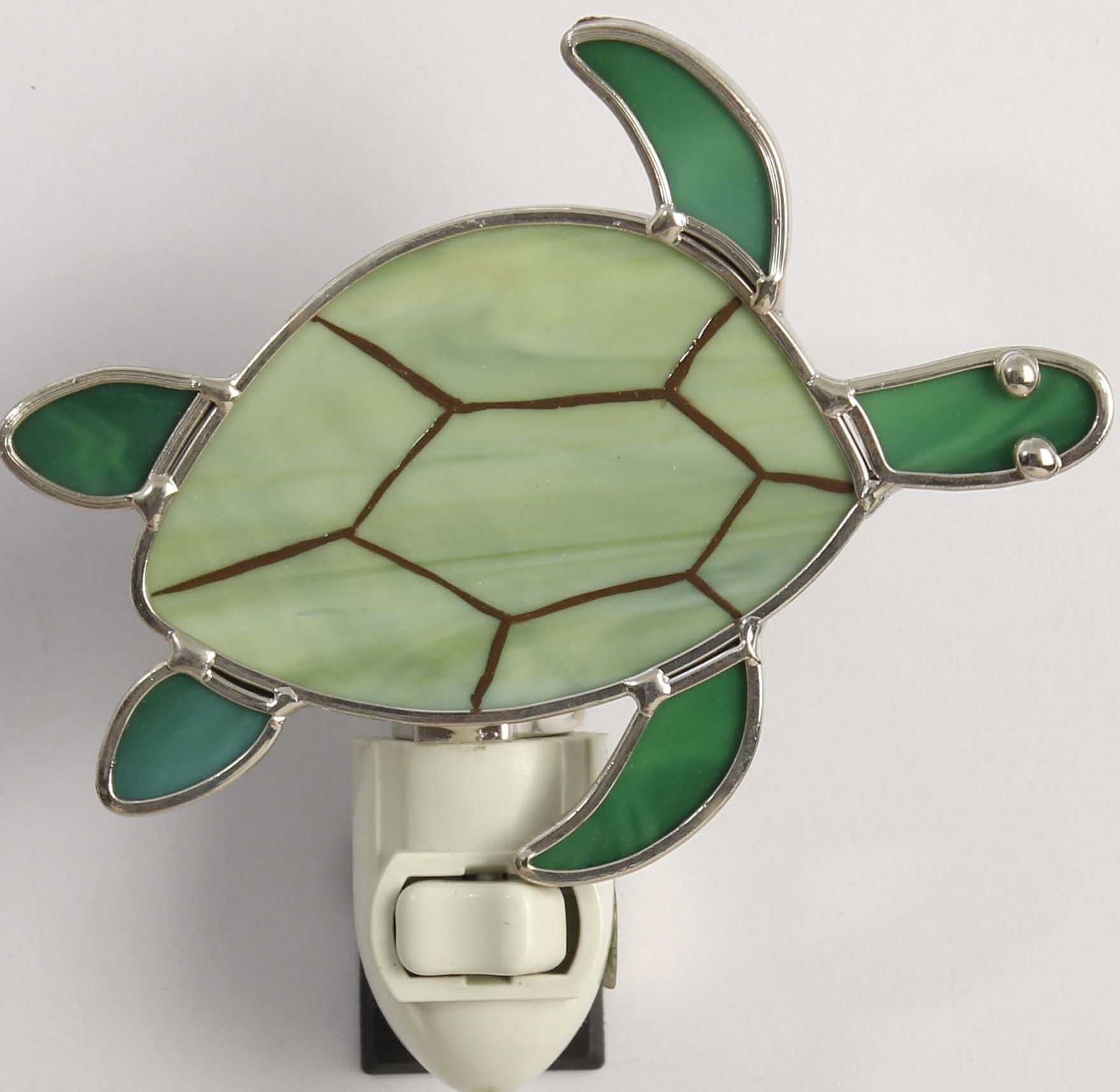 Glass Night Lights Stained Glass Turtle Night Light Night Lights Stained
