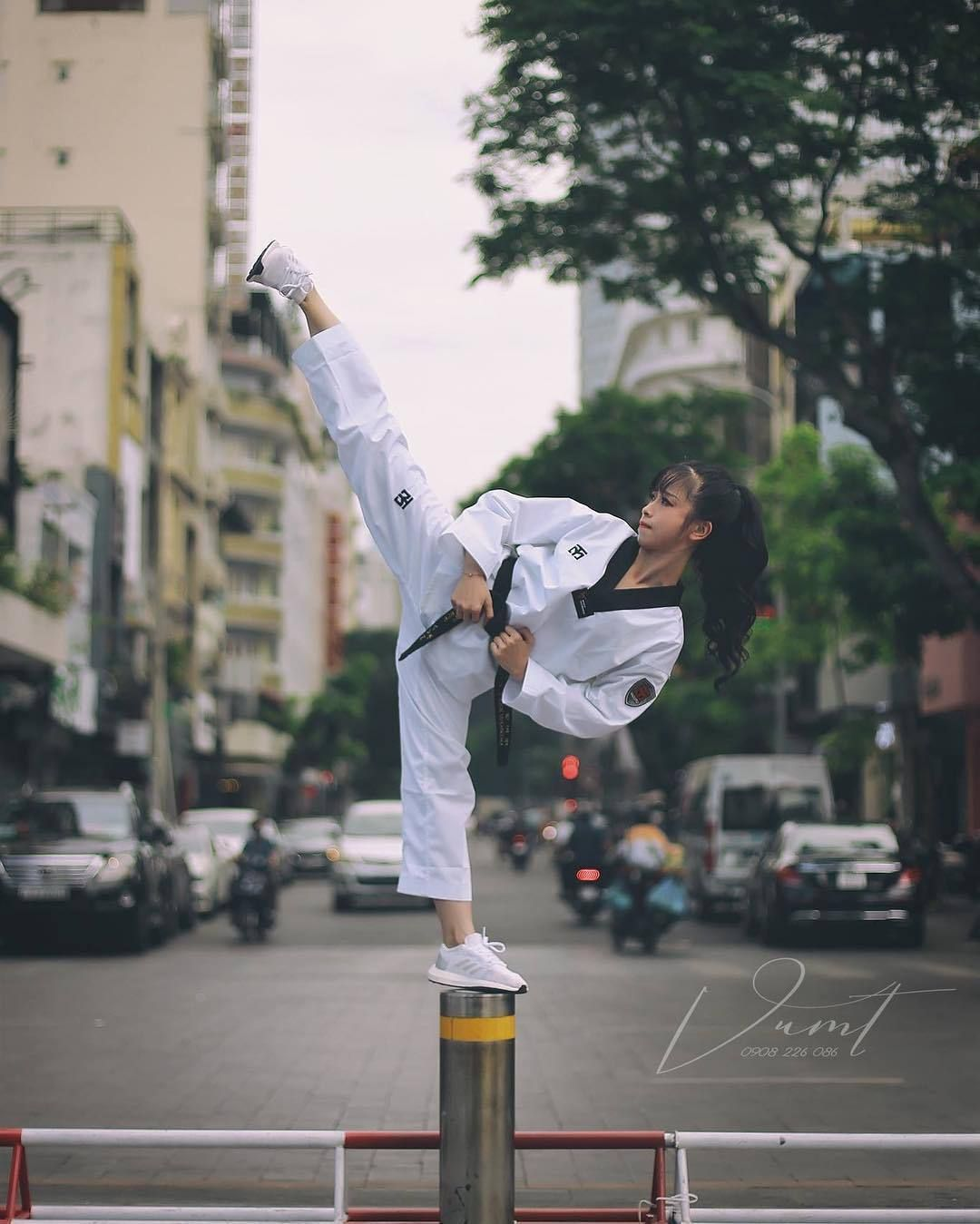 Theblindninja Taekwondo Girl Karate Photos Karate Girl