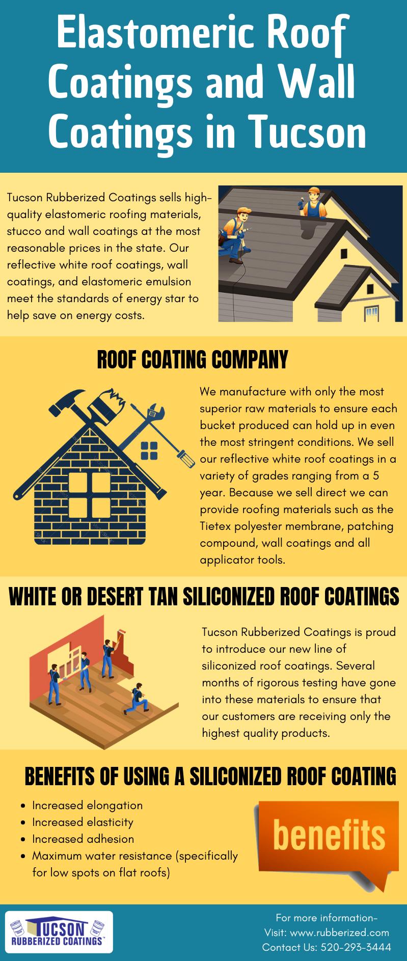 Best Elastomeric Roof Coatings And Wall Coatings In Tucson Roof Coatings Elastomeric Roof Coating Roof Coating