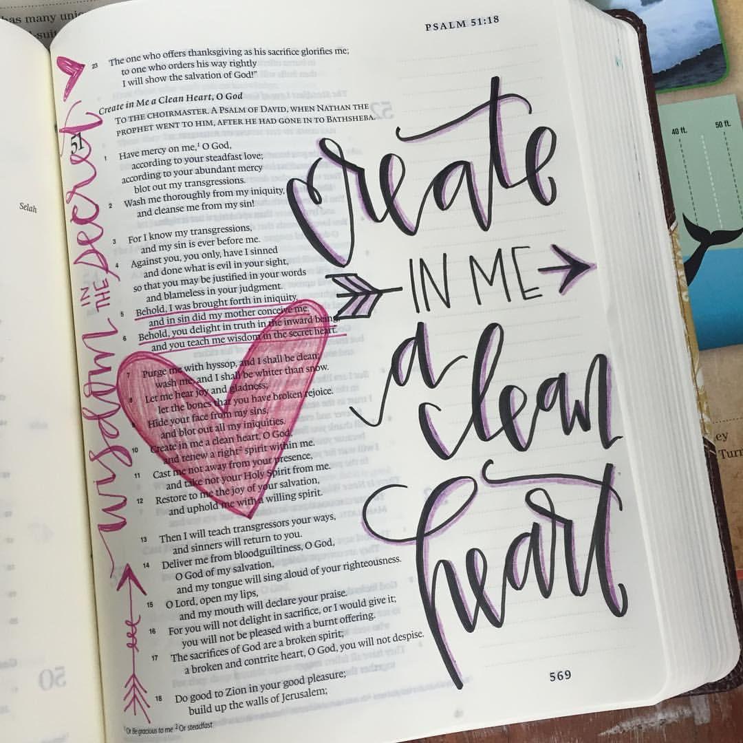Loving my new #journalingbible ..thanks GG!