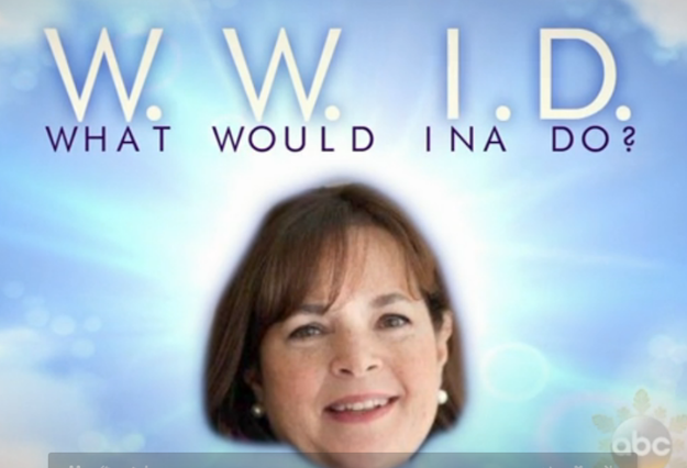 bow down, because ina garten is our one true queen | barefoot