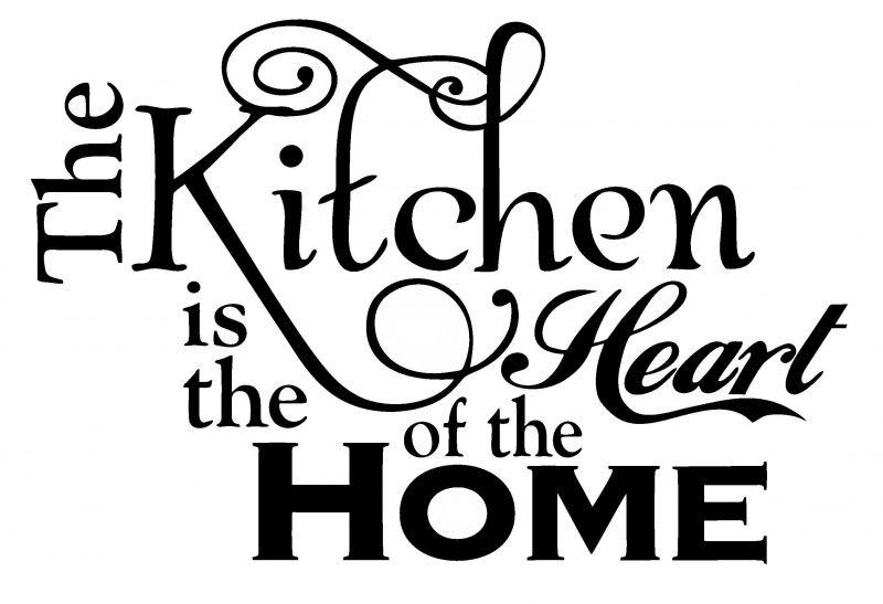 Muursticker The Kitchen  Kitchen  Kitchen decor Kitchen