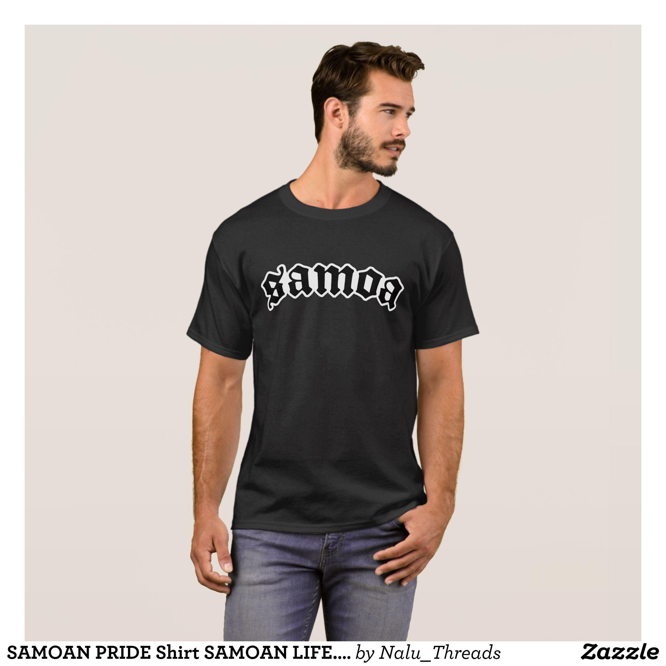 Samoan Pride Shirt Samoan Life Polynesian Mens Short Sleeved
