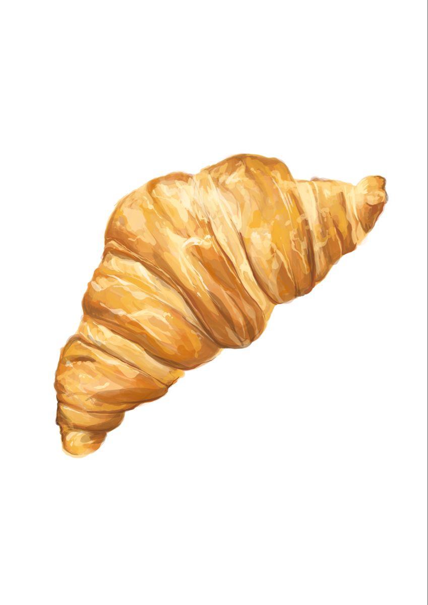 Croissant illustration