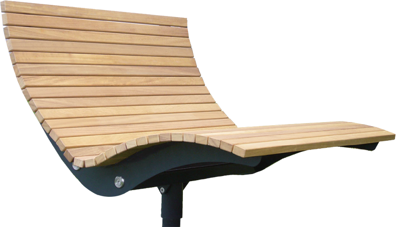 aussenobjekte relaxliege garten parkliege metall holz landschaftsplanung pinterest. Black Bedroom Furniture Sets. Home Design Ideas