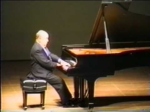 Cherkassky Liszt Liebestraume 3 Encore 3 Live 1995 Chopin Ballade Vocal Lessons Singing Classes