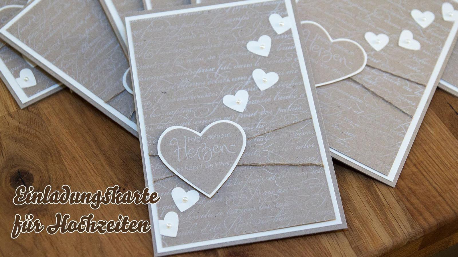 Einladungskarten Hochzeit Selbst Gestalten Kostenlos