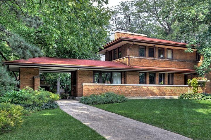 Harry S Adams House Frank Lloyd Wright 1913 This Classic