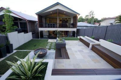 Landscape Design Brisbane Queensland Aus  Outdoors  Landscape design Landscape Front yard