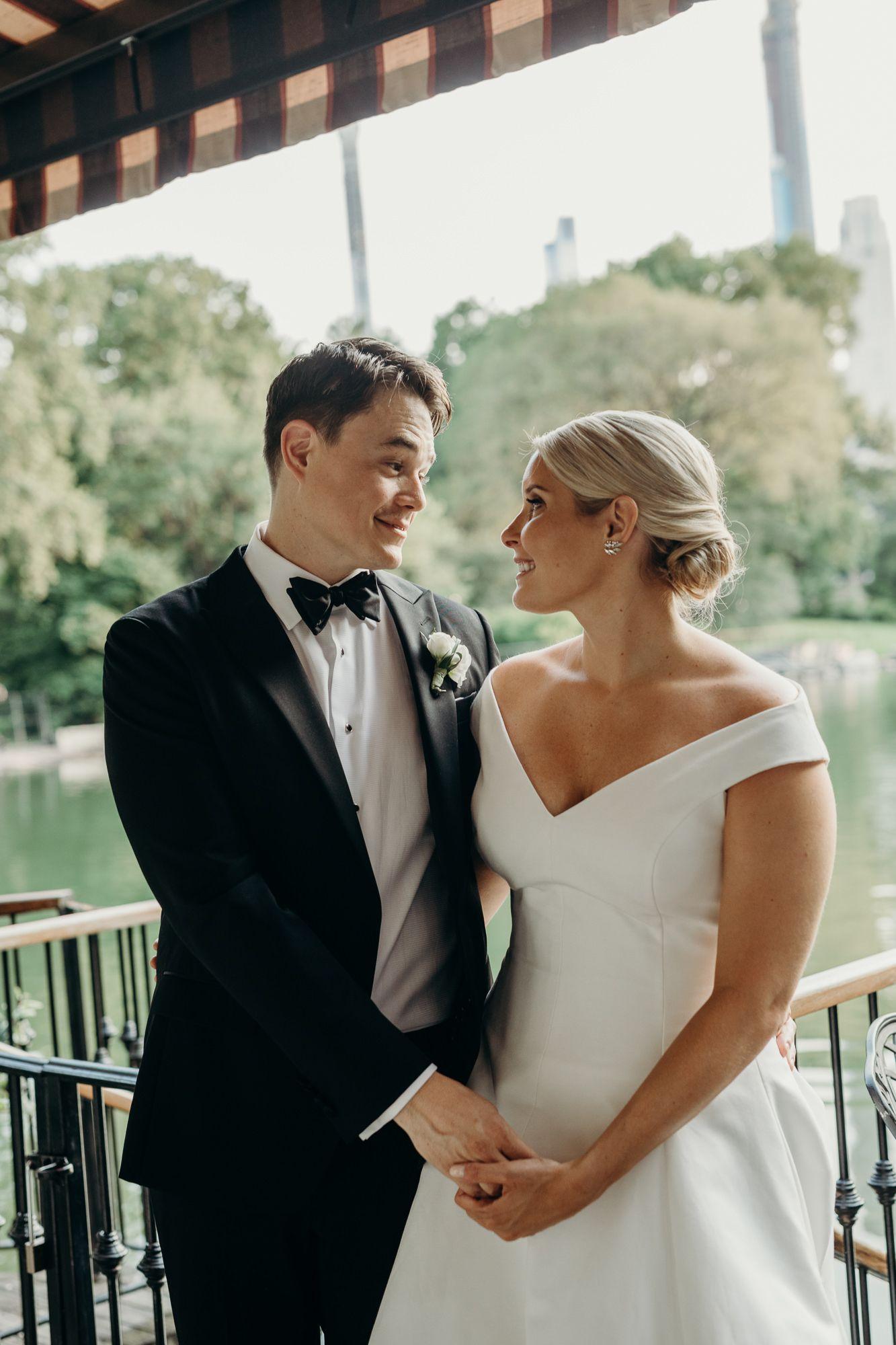 lauren + rick / the loeb boathouse, new york city wedding