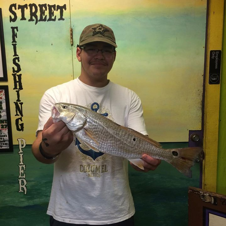 how to catch redfish from a pier