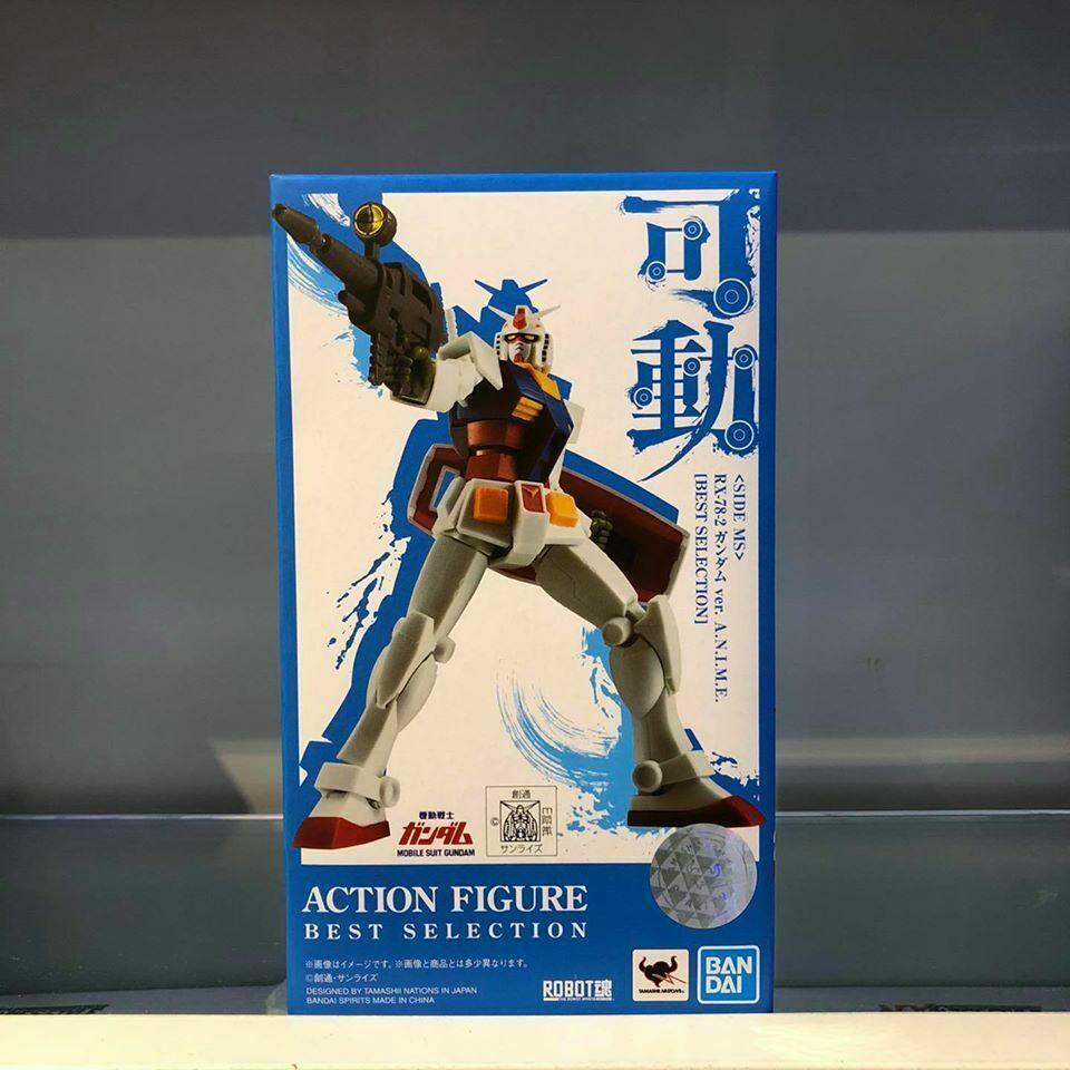 Bandai Best Selection Robot Spirits Soul Rx 78 2 Gundam Figure 2020 Ebay Bandai Gundam Spirit Soul