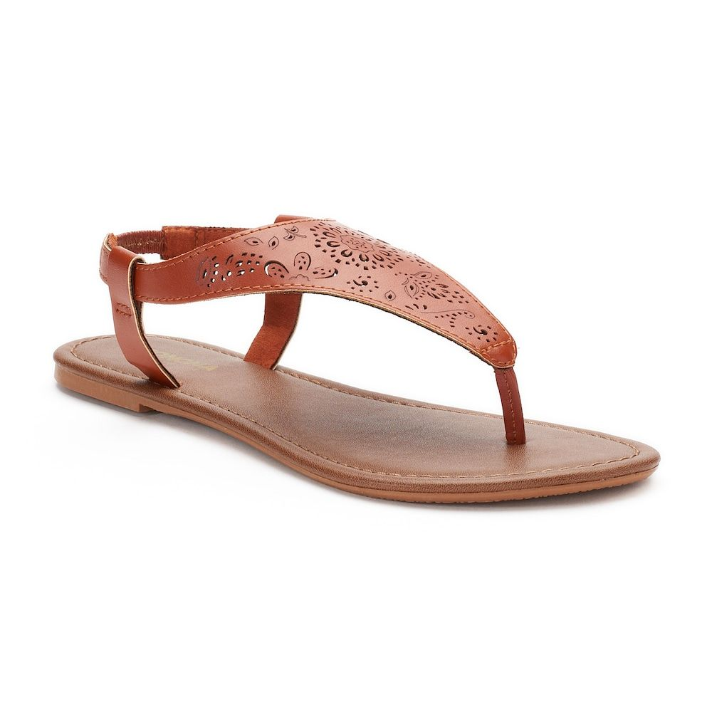 d3db0b9ff009 Women s SONOMA Goods for Life™ Cut-Out Filigree Shield Sandals ...