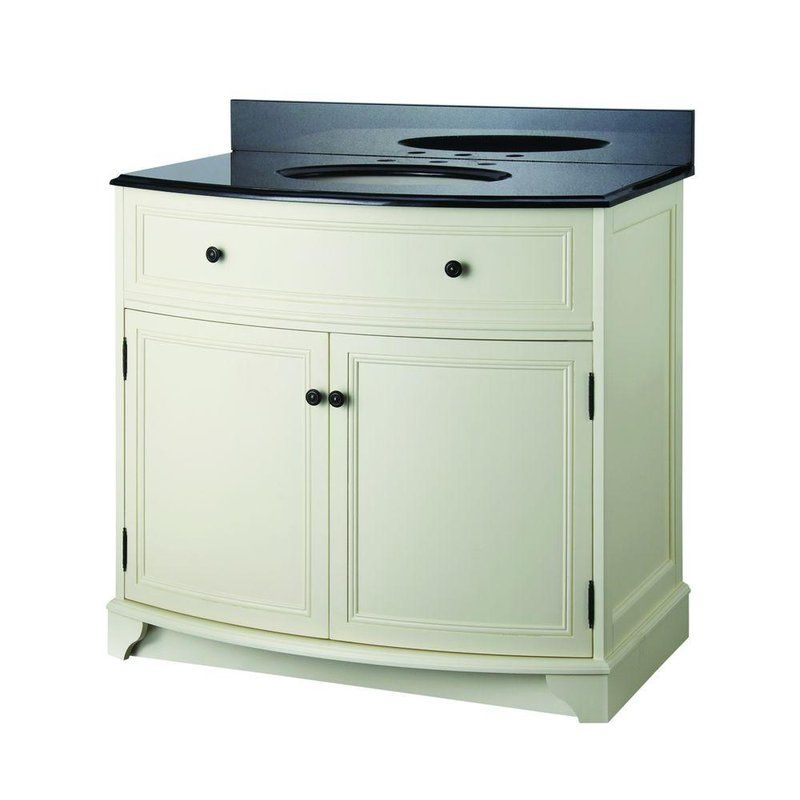 """View the Foremost FMARAAT3734 Arcadia 37"""" Vanity Package with Granite Vanity Top at FaucetDirect.com."""