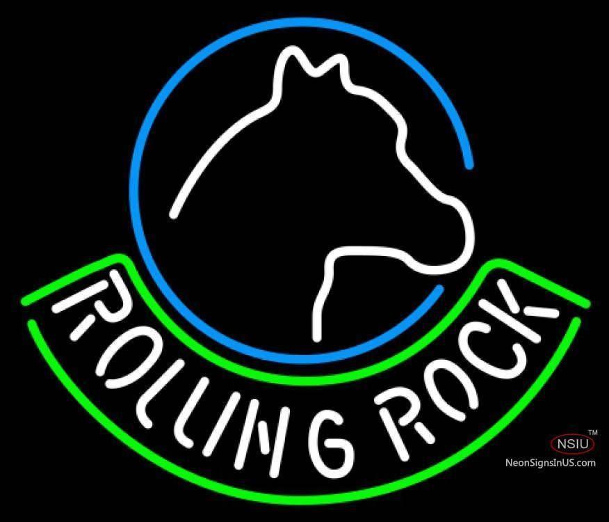 Neon Rolling Rock Beer Sign | Rolling rock beer, Neon beer