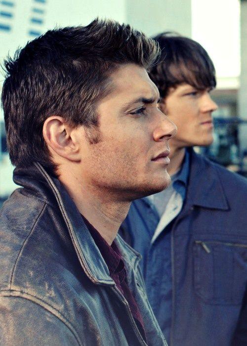 Dean and Sam Winchester (Jensen Ackles and Jared Padalecki)