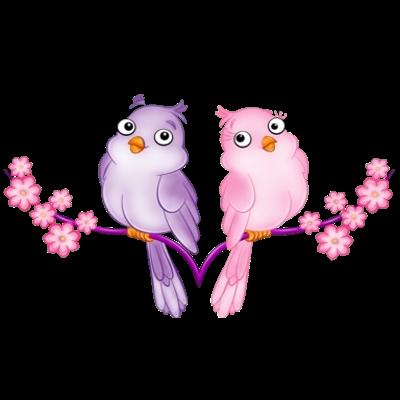 Watercolor Lovebirds Clipart Valentines Graphics Love Bird Etsy Art Love Birds Clip Art