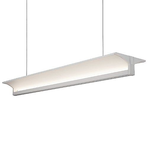 The kuzco lighting lp12945 led linear suspension is a contemporary and energy efficient lighting option perfect for any modern space the t shaped design
