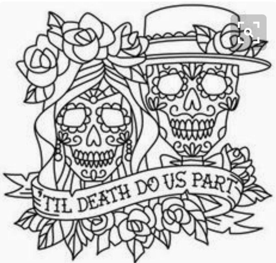 Pin de Nathan York en skull couple | Pinterest