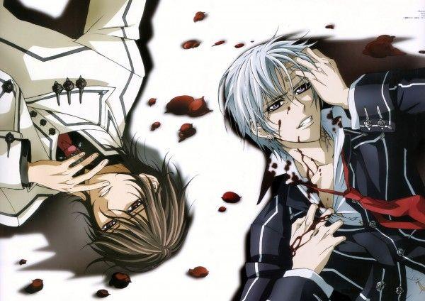 Tags: Anime, Vampire Knight, Kuran Kaname, Kiryuu Zero, Matsuri Hino ...