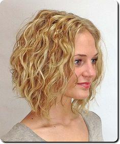 Blonde skinny messy curly